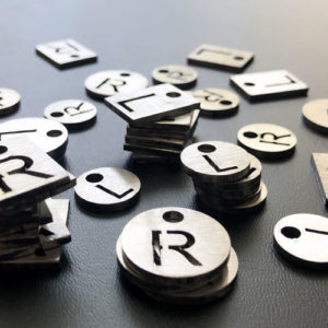 L & R Markers